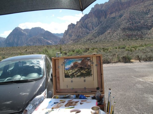 Red Rock Canyon Plein Air
